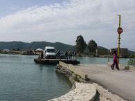 Seilfähre bei Butrint