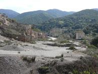 Bergwerk am Riu Naracauli