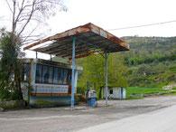 Tankstellen-Ruine