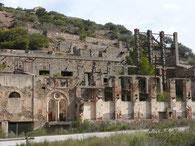 Ruinen des Bergwerks