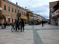 Shkodra, Fußgängerzone
