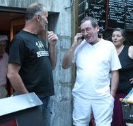 Un Ch'ti à Cauterets :-Allo, Valenciennes? Ecoutez ça, un groupe formidable!....Qui sait, peut-être un contrat dans le CH'Nord?