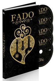 Livro e 4 CDs -A maior antologia de fado de sempre com 100 fados