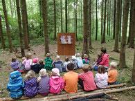 Kasperli Vorstellung Wald Kindergeburtstag