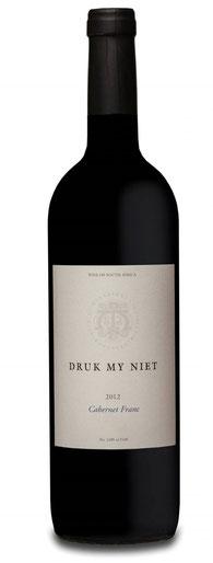Ein Cabernet Franc von Druk-My-Niet ein ganz besonderer Rotwein.