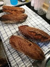 ausgebackenen Brote