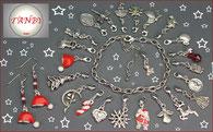 Schmuck-Adventskalender-Adventskalenderfüllung-Schmuckset-Bettelarmband-Ohrringe-Weihnachtsmann
