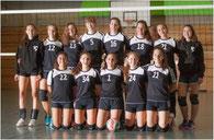 VO-Team wJU20 der Vorsaison