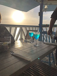 Blue Curacao Sprizz