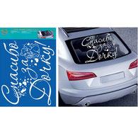 Украшение на машину на выписку из роддома