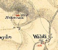 Sulzbergerkarte 1835