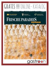 Das Genussbuch vom Frischeparadies zeigt Angebot und Informationen im Bereich Feinkost