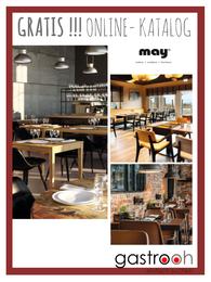 Katalog MAY Gastronomie Möbel