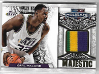 KARL MALONE / Majestic - No. 87  (#d 6/25)