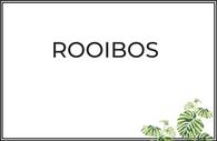 Rooibos puro y aromatizado