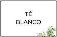 Té blanco puro y aromatizado