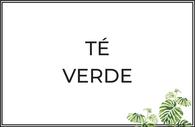Té verde puro y aromatizado