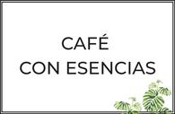 Café con aceites esenciales de avellana, vainilla,...