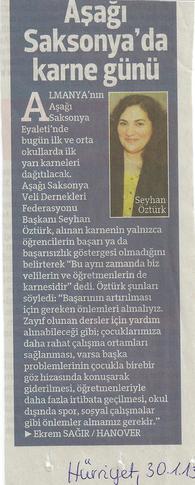 Hürriyet, 30.01.2013