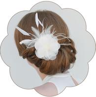 Fascinator und Headpieces für die moderne oder vintage boho Braut. Spitze, Seide, Federn, Blüten Haarschmuck Fascinator.