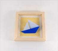 cadre origami objet décoration liste cadeau naissance