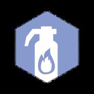 Icon: Brandschutz und Notfallvorsorge