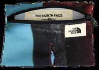 Kleine ausgefallene Upcycling Etuis für The North Face. Jedes Täschchen ein Unikat mit einer kleinen Message auf der Innenseite. Nachhaltigkeit aus gebrauchten Planen mit Reciclage.