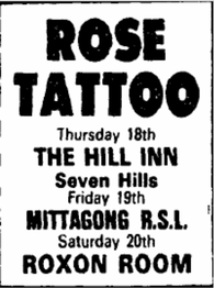 Tour AD -  Friday 18. July '85 Sydney Morning Herald