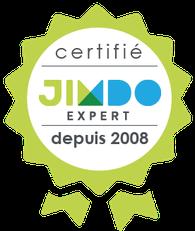 agence web certifiée Expert Jimdo depuis 2008