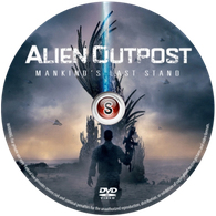 Alien outpost Cover DVD