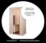 4-FIT | eine Kabine mit Infrarot; Dampf, Fitnesswand und Sauna |  All in ONE
