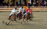 Haflingerrennen auf der historischen Wiesn 2010