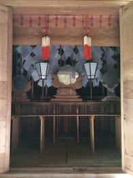 吉原神社本殿