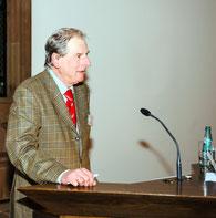 Dr. Michael Hagemann mit den Schlussworten