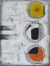 Abstrakt Konrad Malerei