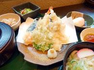 まんぷく天ぷらセット:ランチメニュー
