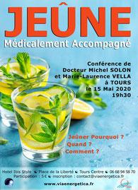 conference a tours - le jeune medicalement accompagné - dr solon - via energetica