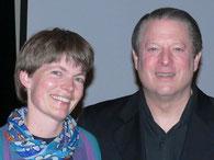 US Vicepräsident Al Gore und Dr. Winter