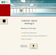 Standortanalyse-Tool Contor-Regio