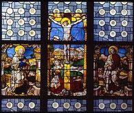 Fenster in Lyskirchen aus der Zeit zwischen 1520 - 1530
