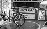 Stand Vélosolex à Mayenne