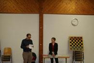 Schachtraining Schachfreunde Conweiler mit Melanie Ohme