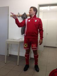 Nur 5 Gegentore in 8 Spielen: Norbert Bauer