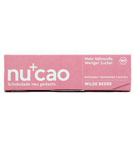Veganer Energieriegel von Nucao