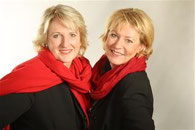 Cornelia Kuhnert und Christiane Franke