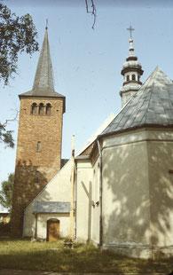 1986, Kościół w Męce - fot. J. Marszałkowski