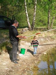 école de pêche corrèze atelier pêche nature monédières