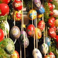 Alte Traditionen  werden in der Fränkischen Schweiz gepflegt!  Ob Osterbrunnen schmücken, Prozessionen oder einfach nur Feste feiern.