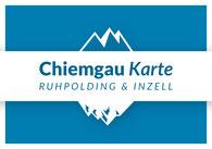 Bild: Chiemgau Karte Ruhpolding Inzell Bayern Partnerlogo