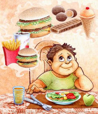 obesidad dietista infantil